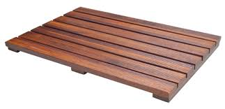 handcrafted teak wood bath mat non slip feet for in and out the handcrafted teak wood bath mat non slip feet for in and out the shower