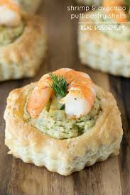 puff pastry canape ideas shrimp avocado puff pastry shells housemoms