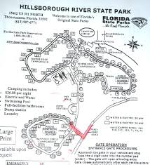 Florida State Parks Camping Map by Nancy And Bill Florida Trip U2013 Travel Day To Hillsborough River Sp