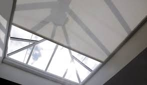 electric roof lantern u0026 skylight blinds the electric blind company