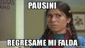 Memes De Laura - laura pausini es v祗ctima de memes y burlas por una falda que luci祿