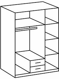 Schlafzimmer Franz Isch Einrichten Wimex 154484 Kleiderschrank Skate 3 Türig Mit Zwei Schubkästen