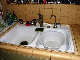 clogged kitchen sink best kitchen sinks u2013 three dimensions lab
