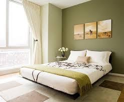 peinture mur chambre coucher design interieur peinture verte chambre coucher mur accent vert