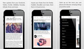 design application ios good news rss reader app for ios updated with new ui and features