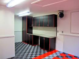black and decker wall cabinet bathroom drop dead gorgeous the garage guy red black cabinets