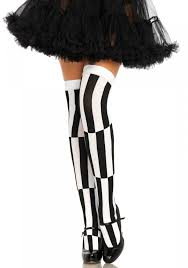 stockings halloween leg avenue 6340 optical illusion hold up stockings leg avenue