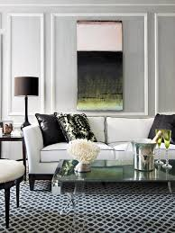 black and white living room furniture white sofas creating clean condition for interior design hupehome