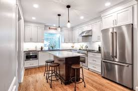 white kitchen cabinets with stainless steel backsplash white cabinets and stainless appliances ideas photos houzz