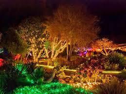 Fort Bragg Botanical Garden 10 Gardens That Glitter With Lights Garden Destinations