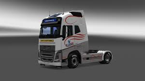 2013 volvo truck volvo fh16 2013 m transline skin v1 truck skin ets2 mod