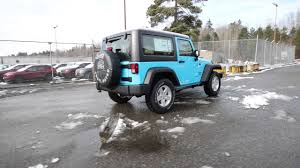 light blue jeep wrangler 2 door 2017 jeep wrangler sport chief clearcoat hl579084 redmond