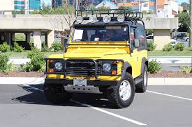 land rover defender 90 convertible 1997 land rover defender 90 90 stock 5w004329b for sale near