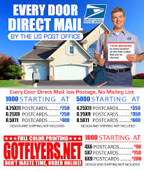 eddm every door direct mail postcards miami color printing