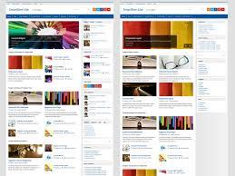colors home page smartline u2013 themezee