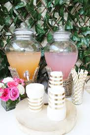 Pink Cocktails For Baby Shower - create a summery floral baby shower the party parlour