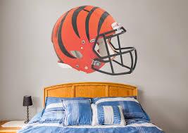 cincinnati bengals helmet wall decal shop fatheadA for cincinnati bengals helmet fathead wall decal