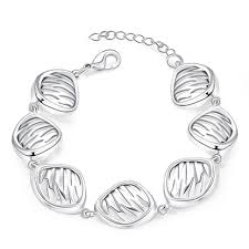 silver plated copper bracelet images Silver plated jewelry jpeg