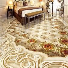 3d flooring wholesale custom 3d flooring golden shading 3d floor tiles