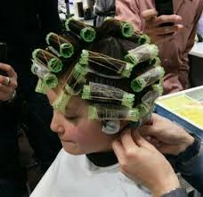 sissified permed hair 831 best rollers images on pinterest beauty salons rollers in