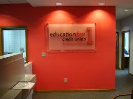Interior Credit Union Interior Wall Logo