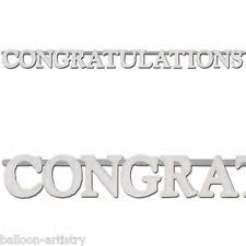 Wedding Congratulations Banner Congratulations Party Banners Buntings And Garlands Ebay