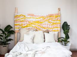 the coziest diy headboard idea to try this fall