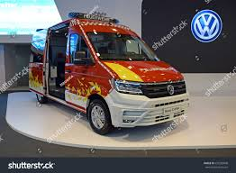volkswagen fire poznan poland april 06 2017 volkswagen stock photo 635250848