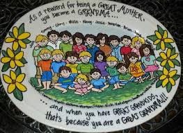 personalized family platters 39 best personalized painted family plates platters images on
