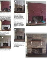 painted tile and brick store 22 best fireplaces images on fireplace ideas
