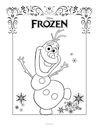 bucket filling coloring pages frozen party