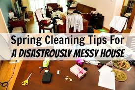 How To Clean A Cluttered House Fast Spring Cleaning For Disastrously Messy Homes Home Ec 101