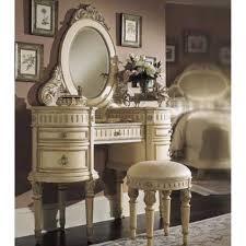 bedroom vanity with fur chair plus mirror for vanity that will