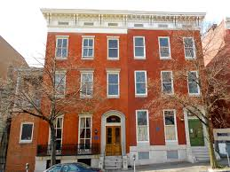 mt vernon rowhouses baltimore exteriors pinterest maryland