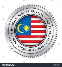 Philippine Flag Means Made Malaysia Silver Badge Flag Symbol Stock Vector 582260293