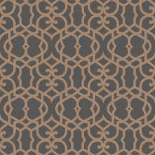 marrakech chocolate fretwork textured wallpaper departments