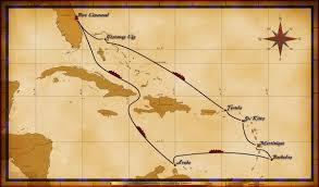 Southern Caribbean Map by Personal Navigators 11 Night Southern Caribbean Cruise From Port