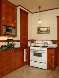 craftsman kitchen cabinets restored cabinets in a renovated craftsman kitchen old house
