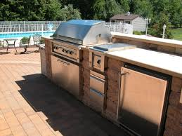 kitchen outdoor built around existingl in reviews gas charcoal