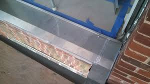 Flashing Patio Door by Door Sill Flashing U0026 Metal Flashing Under Door Threshold For Extra