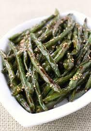 green bean recipes for thanksgiving roasted asian green beans mantitlement