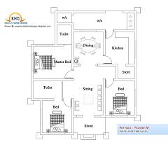 4 bedroom house plans in kerala single floor nikura