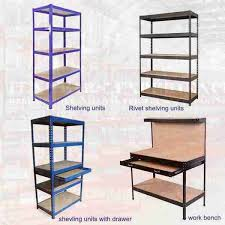 Lowes Shelving Unit by Bolted Slotted Angle Shelving Tire Rack Shipping Time 19 Rack