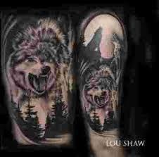 wolf wolf wolf tattoos