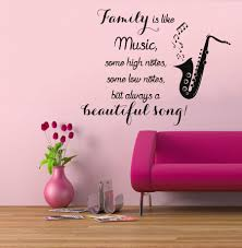 wall decals quotes music color the walls of your house wall decals quotes music music notes wall decals quote family is like by decalmyhappyshop