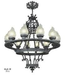 Wrought Iron Ceiling Lights Vintage Hardware Lighting Arts And Crafts Craftsman And