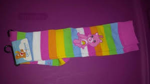 free u0027s rainbow care bears knee socks sz 9 11 shoe sz 4