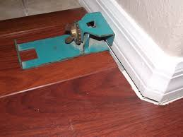 original pergo end clamp used to install laminate flooring the