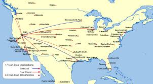 Map Of Los Angeles Airports Southern California Airports Map Los Angeles Mappery And Airport