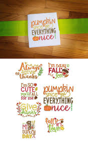 39 best fall halloween u0026 thanksgiving embroidery designs images